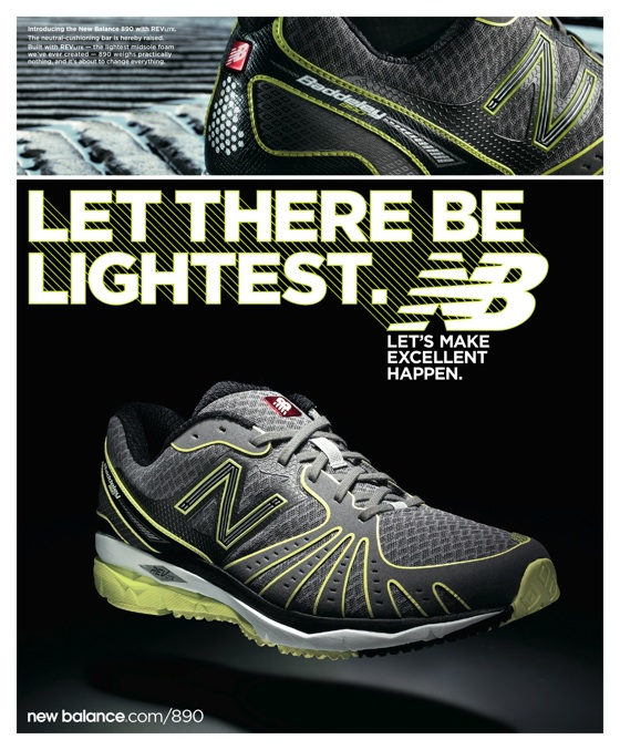 New Balance let there be lightest 560